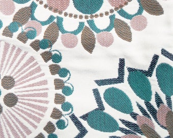 Vintage Upholstery Fabric Swatch