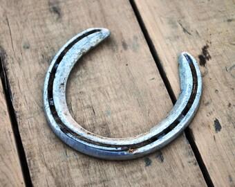 Horseshoe, Horseshoe Art, Horse Shoes Used, Equestrian Decor, Equestrian, Lucky Horseshoe, Aluminum Horseshoe, Horse Lover, Lucky, Horse