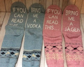 If You Can Read This......Socks
