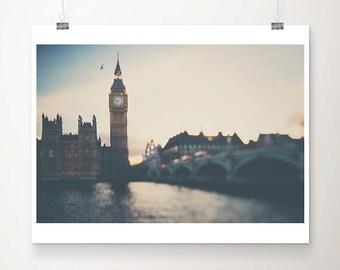 london photograph big ben photograph westminster photograph bird photograph london print houses of parliament travel photography