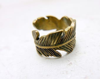 Fearther Ring, Fearther jewelry, vintage ring