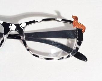 Dachshund Reading Glasses +2.25
