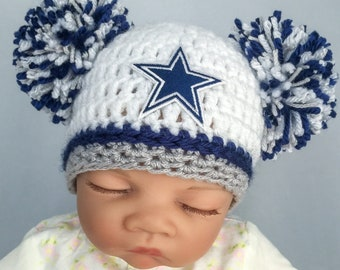Dallas Cowboys baby hat