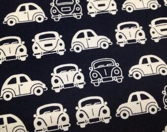Japanese fabric car printed One yard