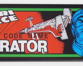 Atari Force Marquee Fridge Magnet (1.5 x 4.5 inches)