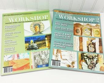 Somerset Workshop + Somerset Workshop 2, 2006 Stampington Out of Print Back Issues