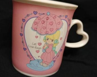 Precious Moments mug, Let love reign, 1996