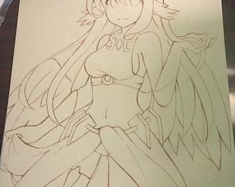 Line Art Anime : Lineart etsy
