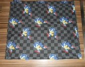 Rare Vintage Sonic the hedgehog Cotton Fabric