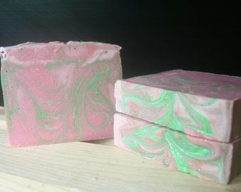 Fresh Raspberry Handcrafted Artisan Soap