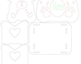 Baby anniversary Bear Box