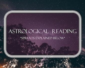 Astrological Tarot Reading