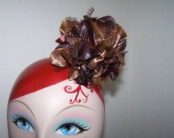 big flower hair clip