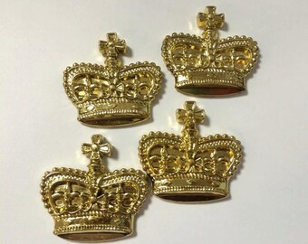 Gold Crowns for Pin Ons, Capias, and Decoration