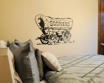 Sooner Schooner - Wall Decal - University of Oklahoma