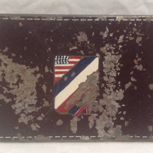 Metal Tin Cigarette Storage Holder Case Smoke, Old and Crusty, American/Britain