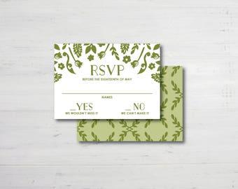 Twig RSVP Cards
