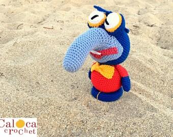 Pattern Gonzo muppets by Caloca Crochet