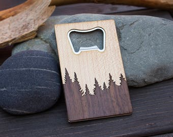 5th anniversary gift, wood anniversary, engraved bottle opener, bottle opener, wood gift, handy opener, gift for husband, gift for boyfriend