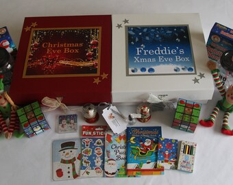 Children's Christmas eve box - Filled & Personalised