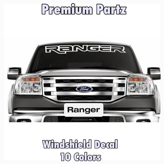 1950 2017 ford ranger vinyl windshield body decal sticker new. Black Bedroom Furniture Sets. Home Design Ideas
