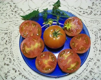 Heirloom Tomato- PERON- 68 day RED Determinate  25 seeds per pack