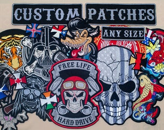 Custom Patches. Service.
