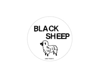 Black Sheep - Sticker