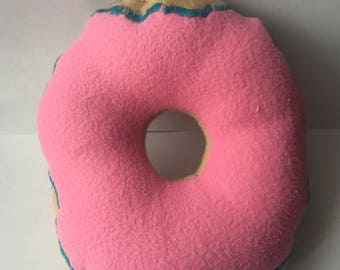 Doggy Donut Squeaker Toy
