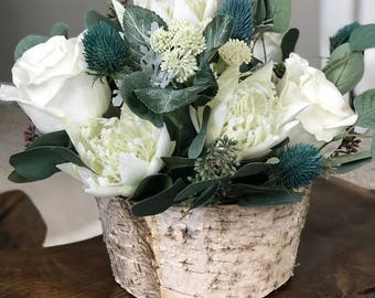 Indie Chic Small Arrangement - Faux Flowers