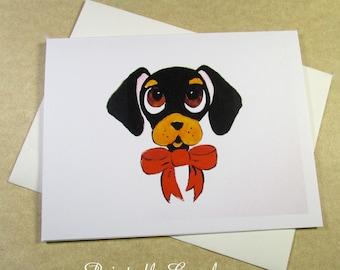 Dachshund Note Cards, Wiener Dog Note Cards, Blank Note Cards, Dachshund Stationery, Note Cards with Dachshund, Dachshund Gifts