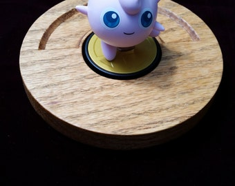 Amiibo stand / base Pokemon Pokeball / Candle Holder