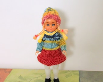 Vintage Sleepy Eyes Doll with Head, Arms and Legs Movement Upcycled rescued doll