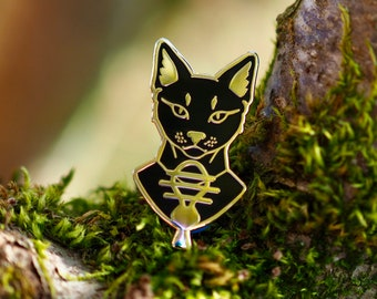 Bastet Hard Enamel Pin