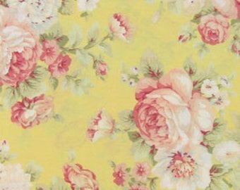 navy bright rose fabric 100 cotton quilting apparel crafts rh etsy com ralph lauren cottage rose fabric waverly cottage rose fabric