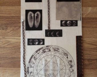 Custom collage piece - science, biology, astrology