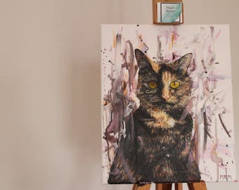 Pet Portraits, Get In Touch For Custom Paintings.