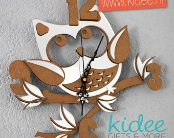 Child's Clock owl