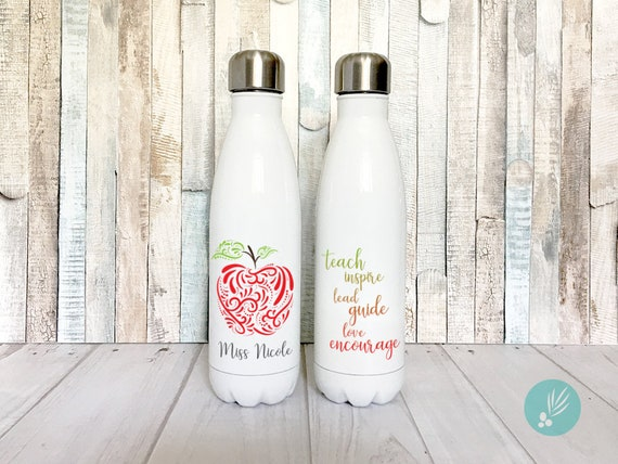 Stainless Steel Water Bottle for Teachers