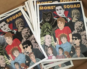 The Monster Squad Stickers