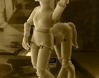 3D Printed BJD Horse Creator Kit