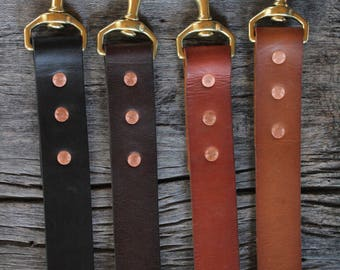 "1.25"" handmade leather dog leash. Handmade dog leash. under the tree. vegetable tanned"