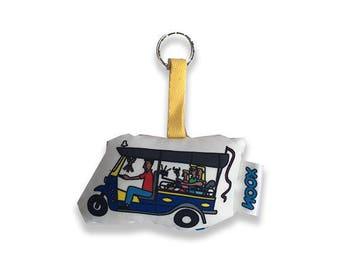 Key Chain Tuk Tuk