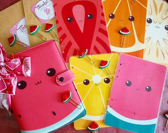Watermelon,lemon,fruits Planner dividers/ A5/ Personal/ Planner Dashboard / Planner Accessories / Planner inserts / Filofax / Planners