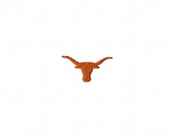 Texas Longhorns embroidery design download - 4x4 hoop size only