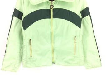 Rare !!! Vintage PIERRE CARDIN Jacket Color Block Rap Tees Hip Hop Swag