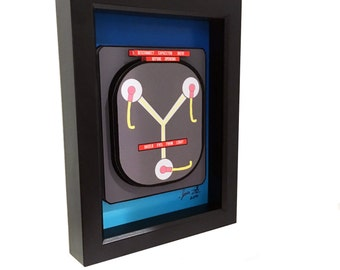Flux Capacitor Back to the Future Print 3D Art
