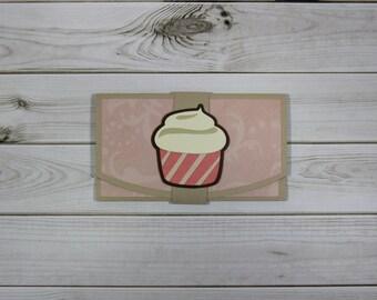 Handmade Gift Card Holders (Cupcake, Tool/Power Drill, Coffee, Book Worm)