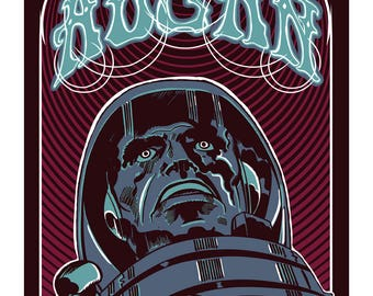 Aucan Gig Poster