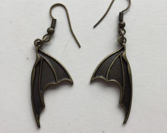 Dragon Bat Wing Earrings